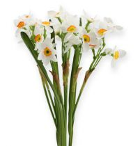 Bouquet blanc de narcisses 35 cm 3 p.