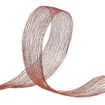 Filet de cuivre net renforcé 40mm 15m