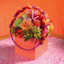 Arrangement de table en brique de mousse florale 11cm x 11cm x 8.5cm 4pcs