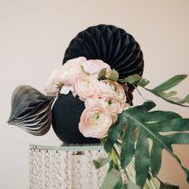 Boule mousse florale, noire Ø20cm