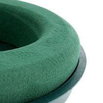 Anneau composite plug-in mousse plug-in avec coque verte Ø30cm H4,5cm 2pcs