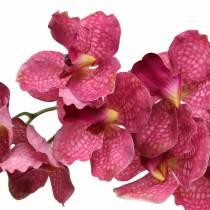 Branche d'orchidée artificielle rose H83cm