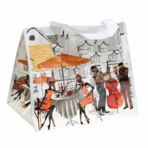 Sac shopping avec poignées Bella Vita plastique 32 × 21 × 26cm