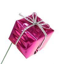 Paquet 2.5cm sur le fil rose 60pcs