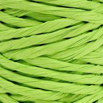 Cordon papier 6mm 23m vert pomme