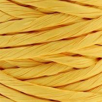 Cordon en papier renforcé 6 mm 23 m jaune