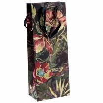 Sac cadeau pour bouteilles de fleurs 8,5cm x 14cm H36cm