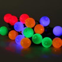 Guirlande lumineuse extérieure multicolore 20 LED 9,5 cm