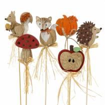 Bâtonnets de plantes assortiment d'automne 12pcs