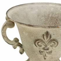 Tasse Crème Vintage Ø15cm H13,5cm