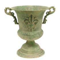 Bol coupe vert antique Ø20cm H24cm