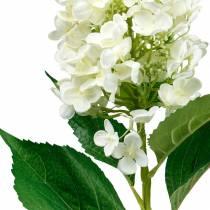 Panicule hortensia blanc crème, hortensia artificiel, fleur en soie 98cm