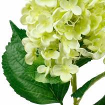 Hortensia panicule artificiel, vert hortensia, fleur de soie de haute qualité 98cm