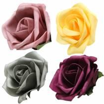 Mousse mousse rose couleur Ø15cm 4pcs