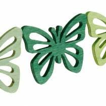 Saupoudrer de papillons de décoration, printemps, papillons en bois, décoration de table à saupoudrer 72pcs