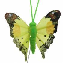 Papillon déco avec fil assorti 5cm 24pcs