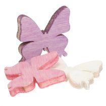 Mélange de papillons à parsemer  2 cm 144 p.