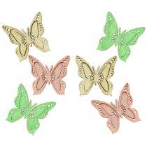 Papillons à parsemer 2 cm 144 p.