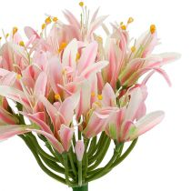 Fleur en soie agapanthe rose 80 cm