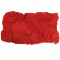 Sisal rouge 500g fibre naturelle