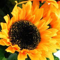 Piquet de fleurs de tournesol 40 cm