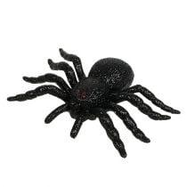 Figurines d'araignées et de chauve-souris, noir 10-14 cm 3 p.
