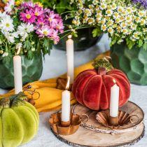 Bougie conique blanc crème bougie décoration 120mm / Ø21mm 6pcs