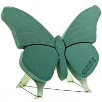 Papillon en mousse florale avec support 56cm x 40cm