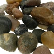 Galets de rivière naturel clair et foncé 2-3cm 1kg