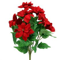 Bouquet Poinsettia Rouge L47cm