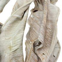 Feuilles décoratives de strelitzia blanchies 120 cm 20 p.