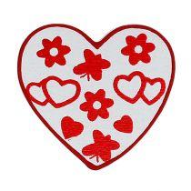 Mélange de cœurs assort. 3cm 24P