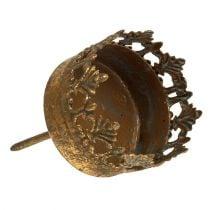 Photophore or antique Ø5cm H10cm 1p