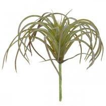 Tillandsia artificielle à coller Plante artificielle vert-violet 13cm
