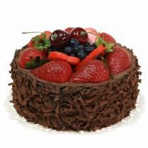 Gâteau à la crème au chocolat artificiellement Ø15cm H11,5cm