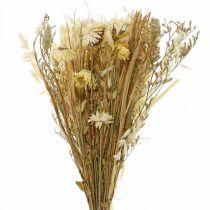 Bouquet de fleurs séchées naturel 45cm