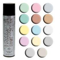 Spray couleur vintage différentes couleurs 400ml