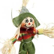 Épouvantail à décorer sur le bâton décoration d'automne 24pcs
