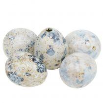 Oeufs de caille blanc marbré 3.5cm - 4cm 60pcs