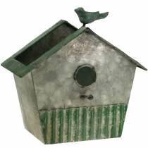 Birdhouse en métal pour la plantation H25,5cm