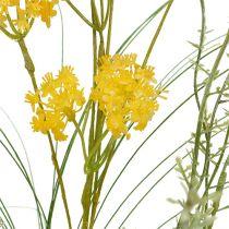 Fleurs des champs jaunes L. 60 cm 3 p.