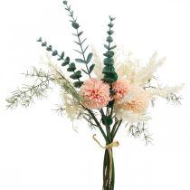 Bouquet de prairie bouquet artificiel fleurs en soie H42cm