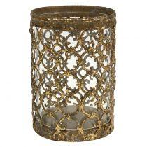Lanterne or antique Ø8cm H11,5cm 1p