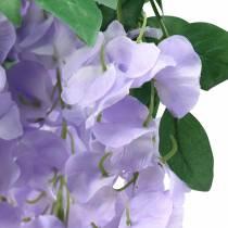 Guirlande de glycine Violet 175cm 2pcs