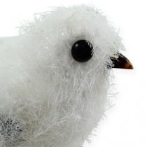 Oiseau des neiges 14cm avec clip