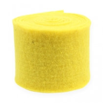 Bande de feutrine jaune 15 cm 5 m