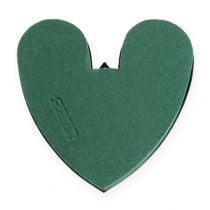 Coeur OASIS® avec fond 17cm 4pcs