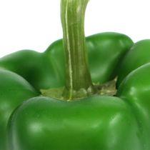 Paprika déco vert 9cm