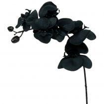 Orchidée décorative noire 54 cm
