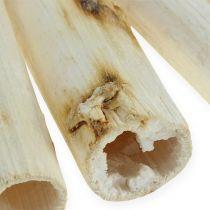 Tiges de tournesol blanches 20 cm 12 p